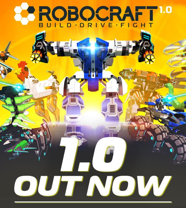 Robocraft 1.0 out now